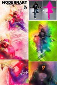 Graphicriver - ModernArt V6 PS Action 11409535