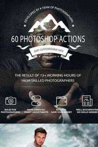 60 Photoshop Actions