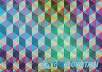 Pattern modern colorful background