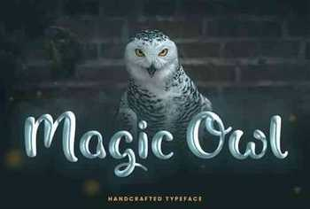 Magic Owl Handcrafted Typeface