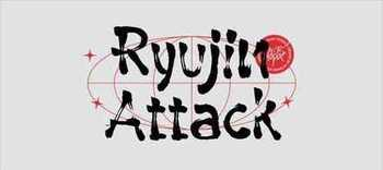 Ryujin Attack - Brush Typeface