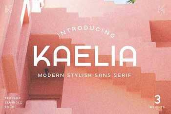 KAELIA - Simple Stylish Typeface