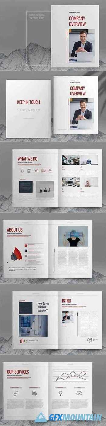 Red Business Brochure Template