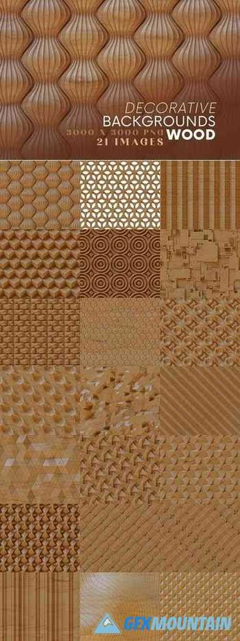 Decorative Backgrounds - Wood