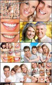 Stock Photos - Beautiful and Healthy Smile