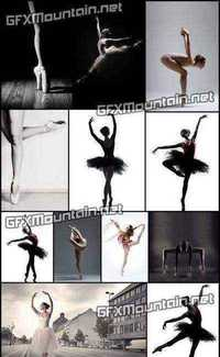 Stock Photos - Ballerina Colletion