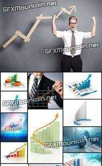 Stock Photos - Business Graph