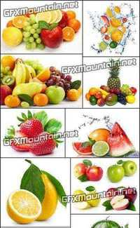 Stock Photos - Fresh Fruits Collection