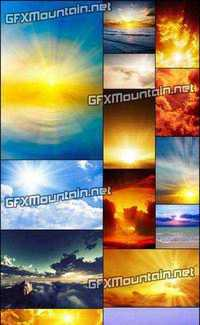 Stock Photos - Sunrise and Sunset