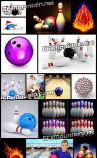 Stock Photos - Amazing Bowling 3