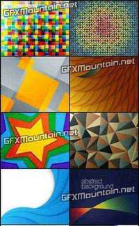 Stock Vector - Collection of Vector Abstract Backgrounds 72
