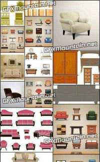 Stock Vector - Furniture 2