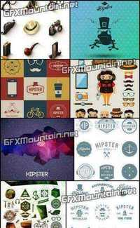 Stock Vector - Hipster Style 8