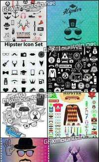 Stock Vector - Hipster Style 7