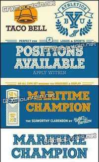 Maritime Champion - 10 Fonts for $24