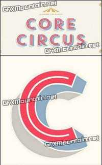 download core circus font