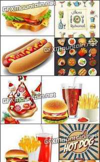 Stock Vector - Fast Food Set