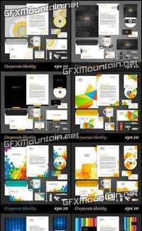 Stock Vector - Corporate Identity Template
