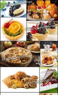 Stock Photos - Pastry and Baking