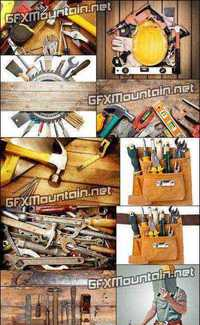 Stock Photos - Construction & Carpentry Tools