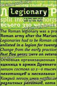 Legionary Font Family - 6 Fonts for $95