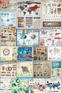 Vector - Infographics Design Elements 24