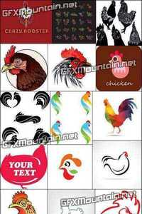 Vector - Chicken Logos