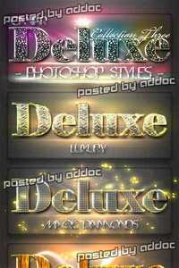 GraphicRiver - 10 DeLuxe Photoshop Layer Styles C3 + Lights