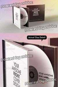 Graphicriver - Realistic CD Mock-Up Template