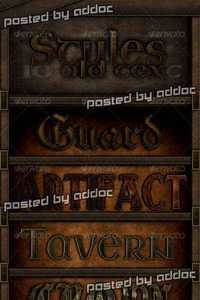 GraphicRiver - 10 Old Text Styles