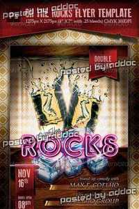 GraphicRiver - On The Rocks Flyer Template