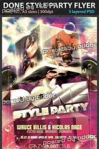 GraphicRiver - Done Style Party Flyer