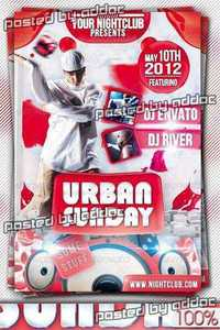 GraphicRiver - Urban Sunday Flyer Template