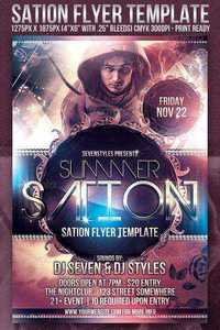 GraphicRiver - Sation Flyer Template
