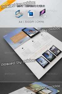 GraphicRiver - Sapps | Corporate Flyer #1