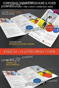 GraphicRiver - Clean Corporate, Business Trifold & Flyer Pack