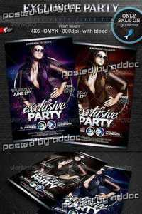 GraphicRiver - Exclusive Party Flyer Template