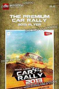 GraphicRiver - Premium Car Rally Flyer 2013