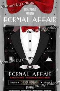 GraphicRiver - Formal Affair Poster and Flyer