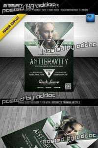 GraphicRiver - Antigravity - Electro Party Flyer