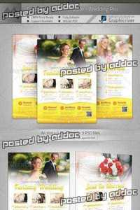 GraphicRiver - Corporate Flyer - Wedding Pro