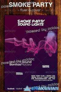 Graphicriver - Smoke Party Flyer