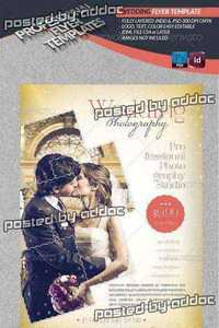 GraphicRiver - Wedding Photography Flyer Template