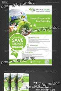 GraphicRiver - Renewable Energy Saving Flyer