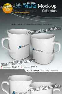 GraphicRiver - 3D Photorealistic Mug Mock-ups Collection