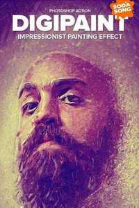 Graphicriver DigiPaint - Impressionist Painting Effect 10383104