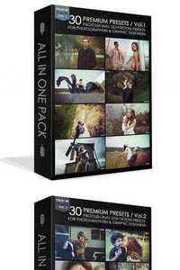 90 Premium Lightroom Presets from Eugene Makarov Vol.1,2,3
