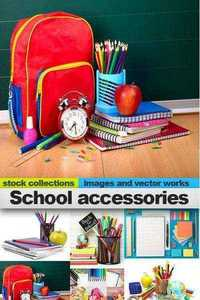 School accessories, 25 x UHQ JPEG