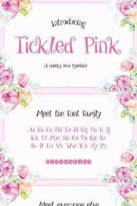 Tickled Pink Font