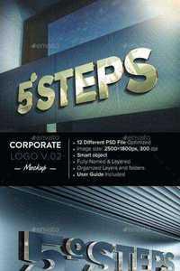 Graphicriver - Corporate Logo Mockup V 0 2 10450838 » Free Download